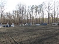 100' x 200' all-weather jumping arena