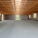 Our indoor arena is 70' x 160'