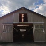 Designed by Lauren from the ground up, our new barn is second to none in attention to fine detail.